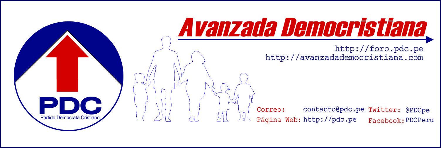 Avanzada Democristiana – Foro de participación Ciudadana – Partido Demócrata Cristiano del Perú